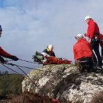 Hebrides Search and Rescue Team training