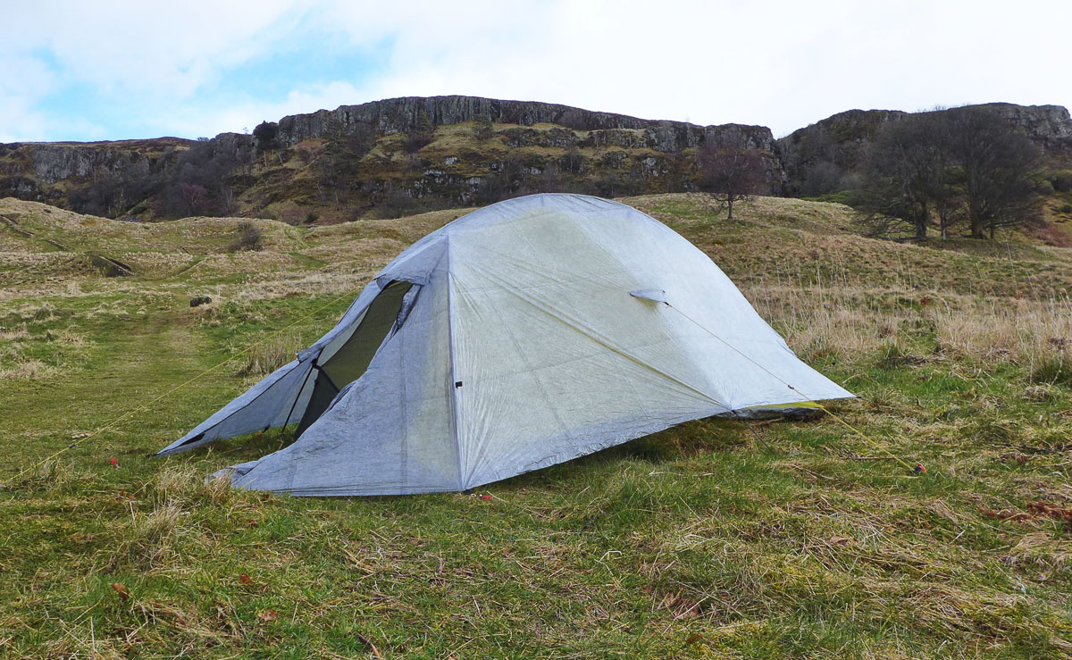 Backpacking kit test walkhighlands - Terras tent ...