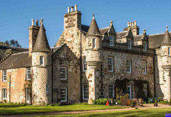 Wonderful Heritage Castle, near Inverurie