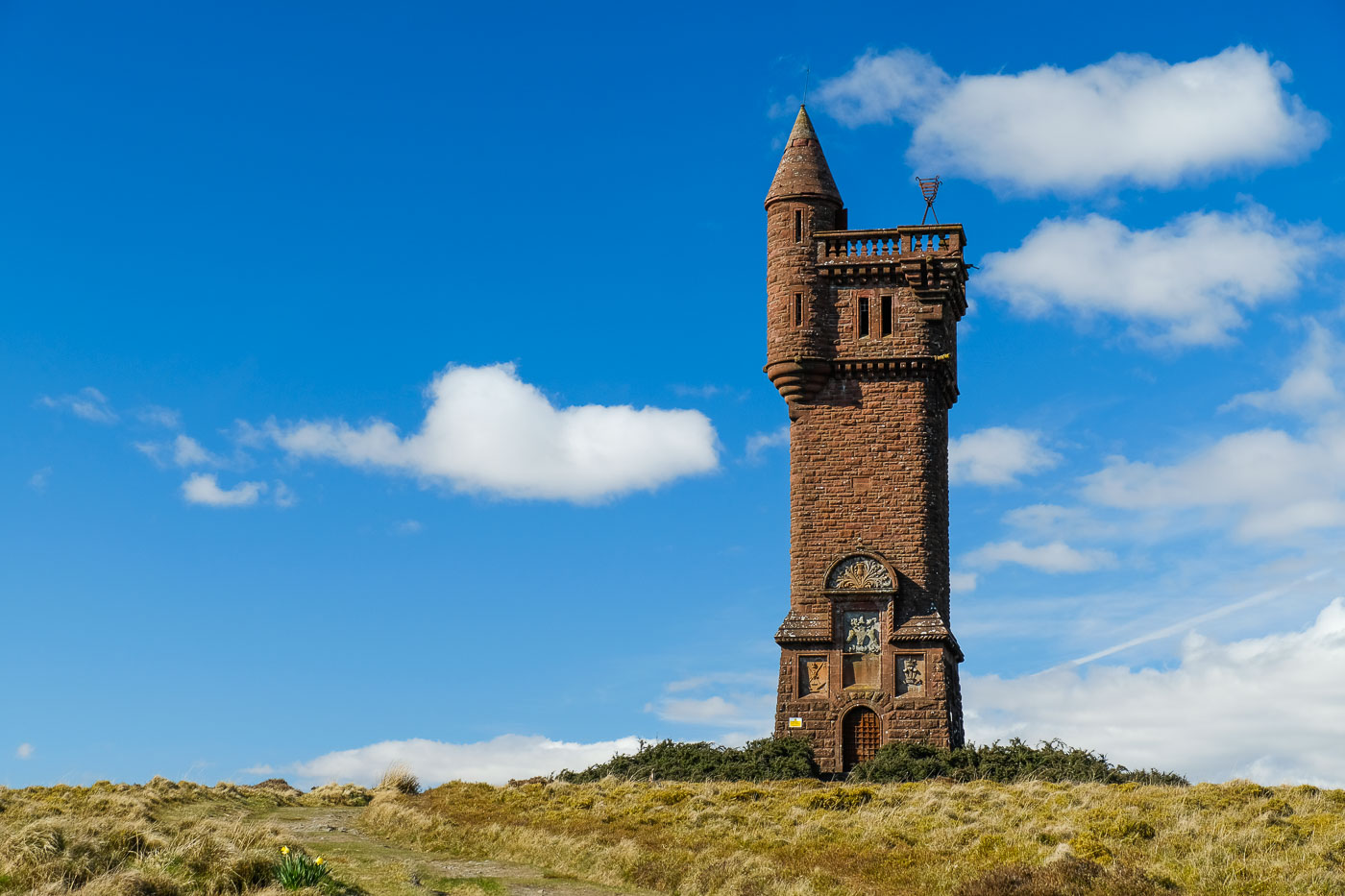 Airlie Monument and Dykehead circuit (Walkhighlands)