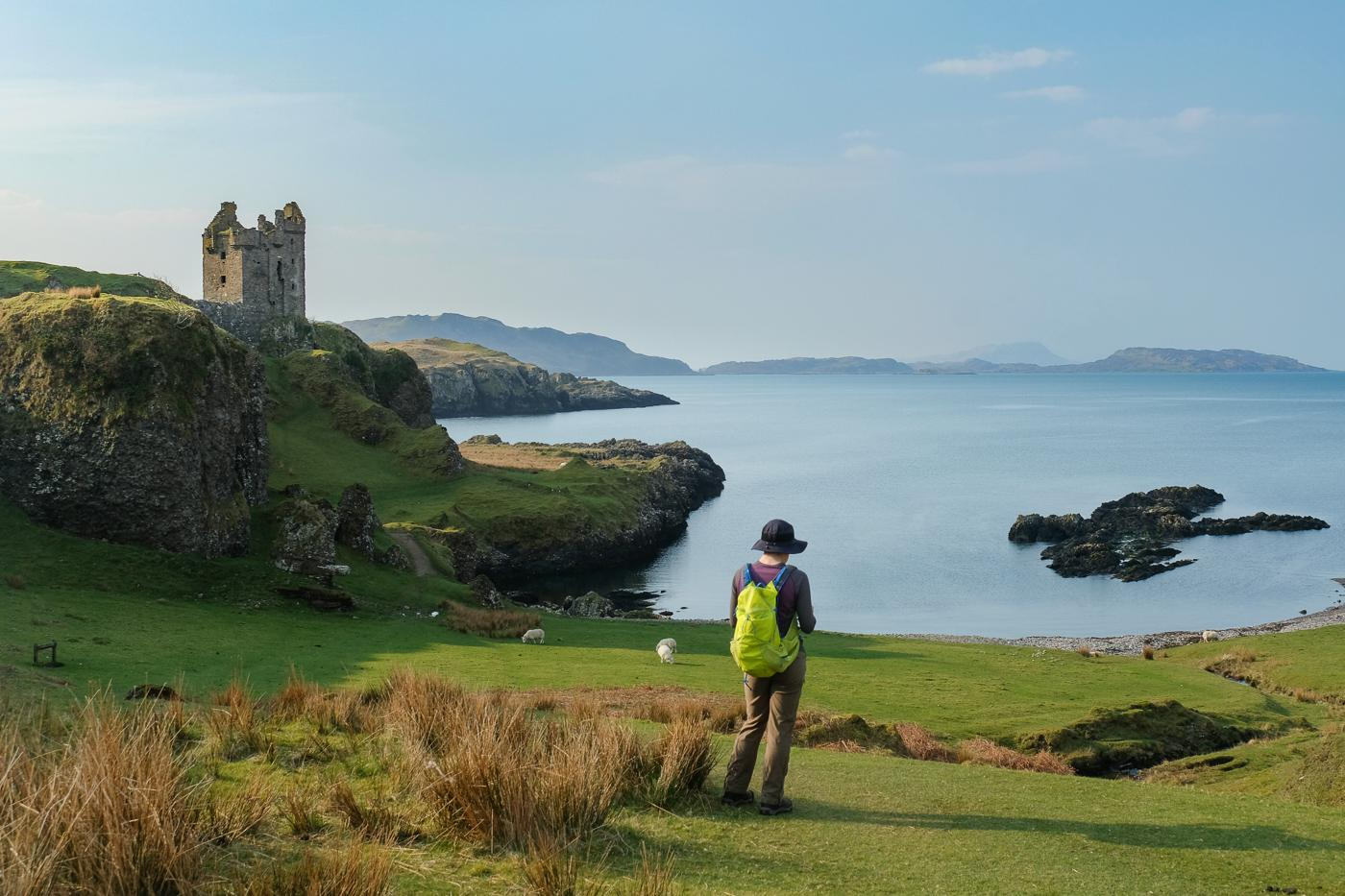Gylen Castle Circuit Isle Of Kerrera Walkhighlands