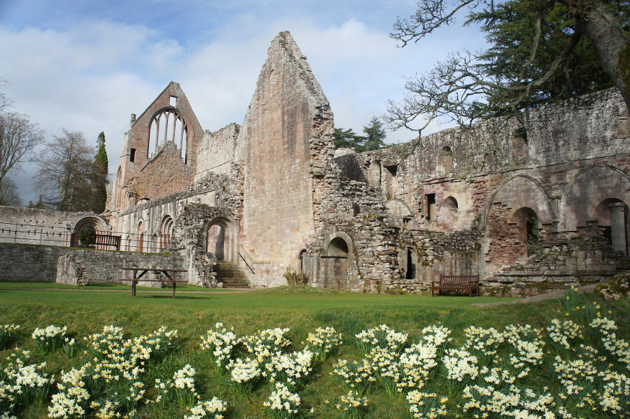 Dryburgh Abbey And The Tweed St Boswells Walkhighlands