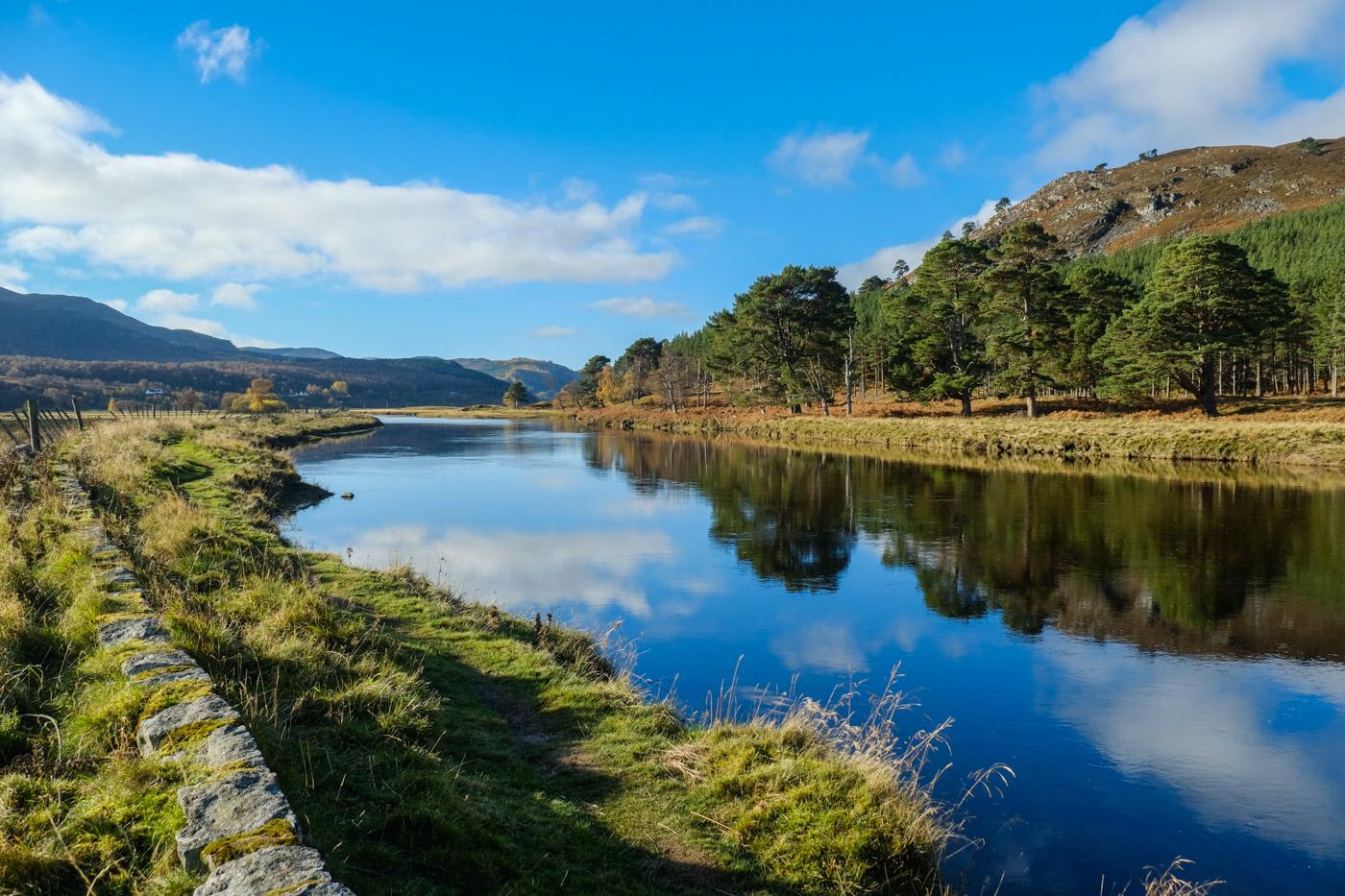 River Dee riverside walk, Braemar (Walkhighlands)