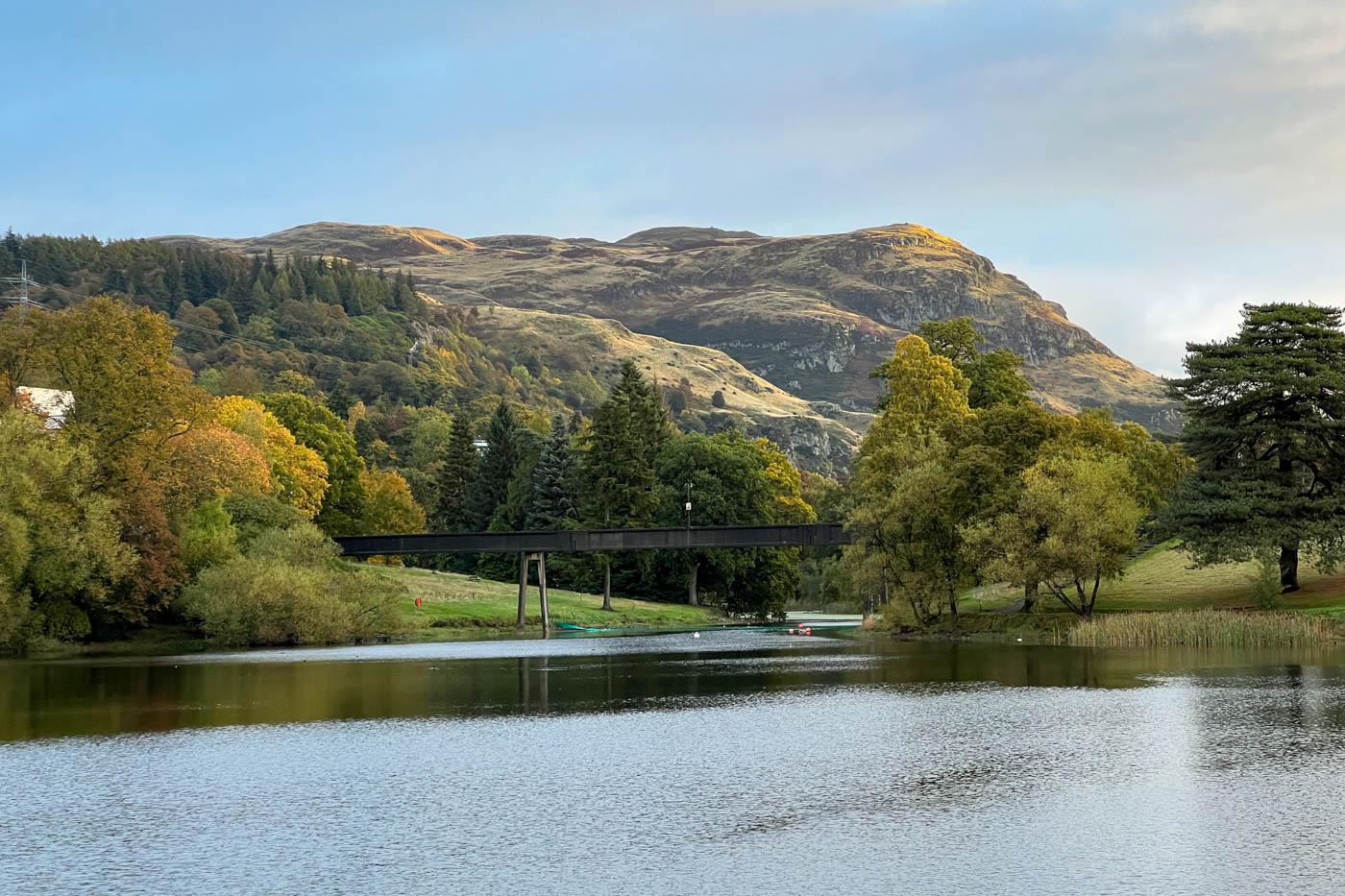 Stirling University and Hermitage Woods, Stirling (Walkhighlands)