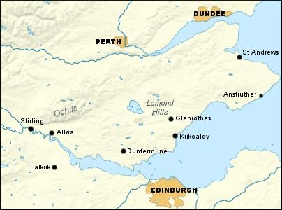 Fife and Stirling (Walkhighlands)
