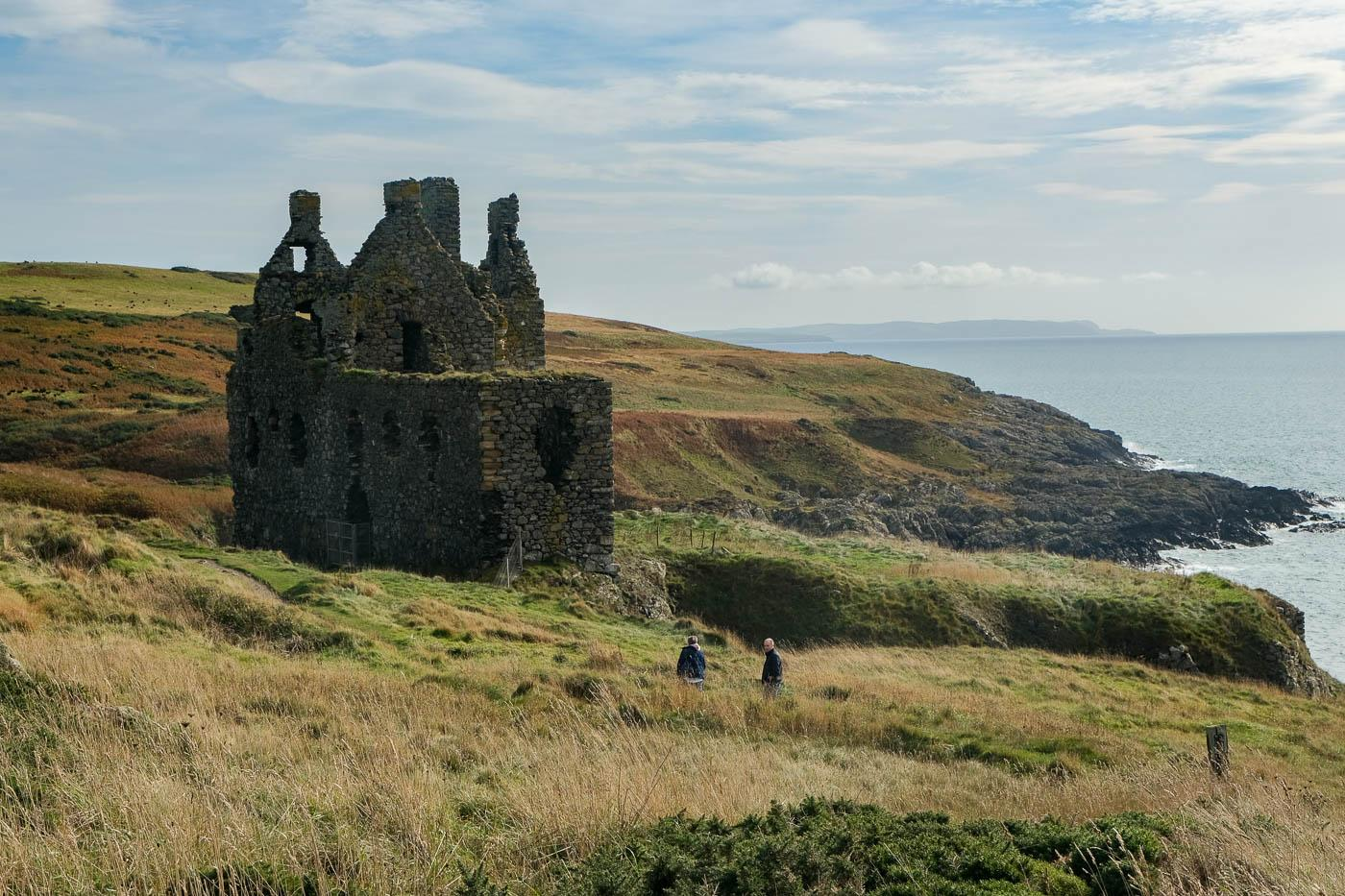 Dunskey Castle From Portpatrick Walkhighlands