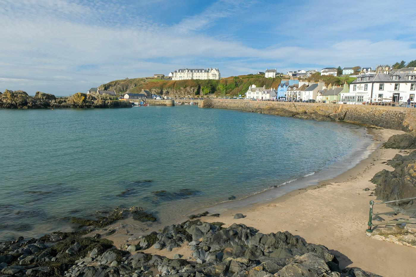 Portpatrick And Killantringan Lighthouse Portpatrick