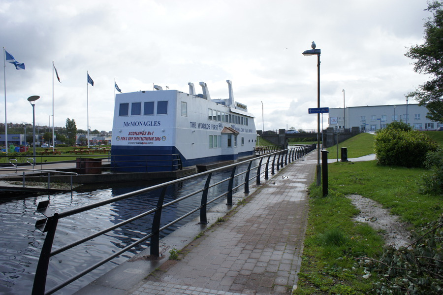 Forth & Clyde Canal: Bowling to Stockingfield Jcn ...: https://www.walkhighlands.co.uk/glasgow/bowling-stockingfield.shtml
