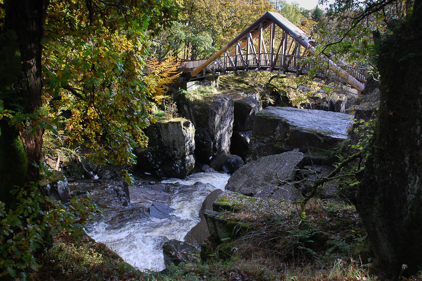 Bracklinn Falls Callander Walkhighlands