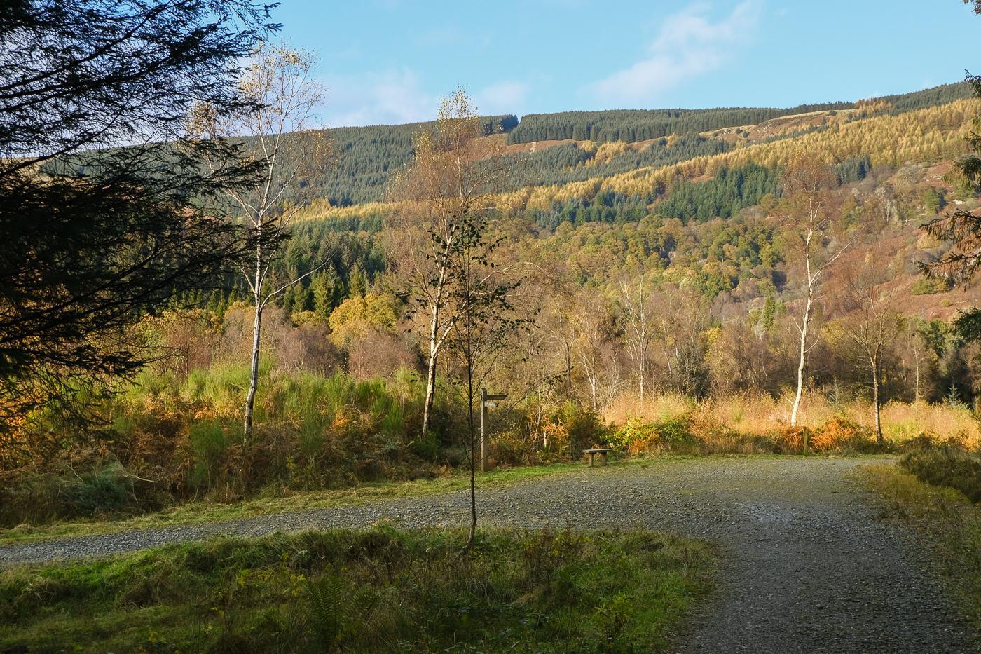 Lochan Spling Aberfoyle Walkhighlands