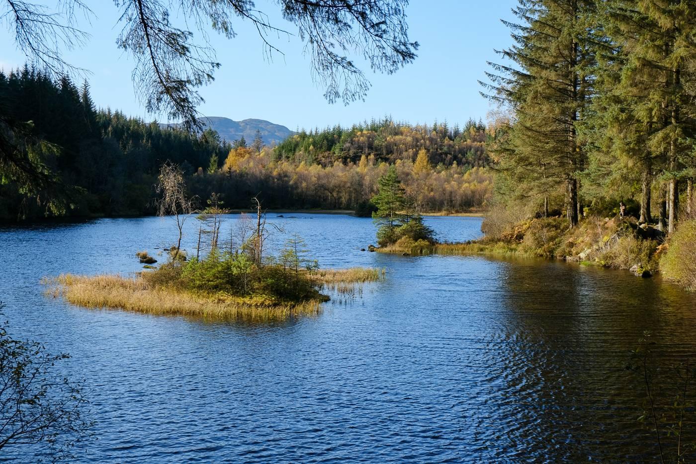 Loch Ard And Ghleannain Loch Near Aberfoyle Walkhighlands