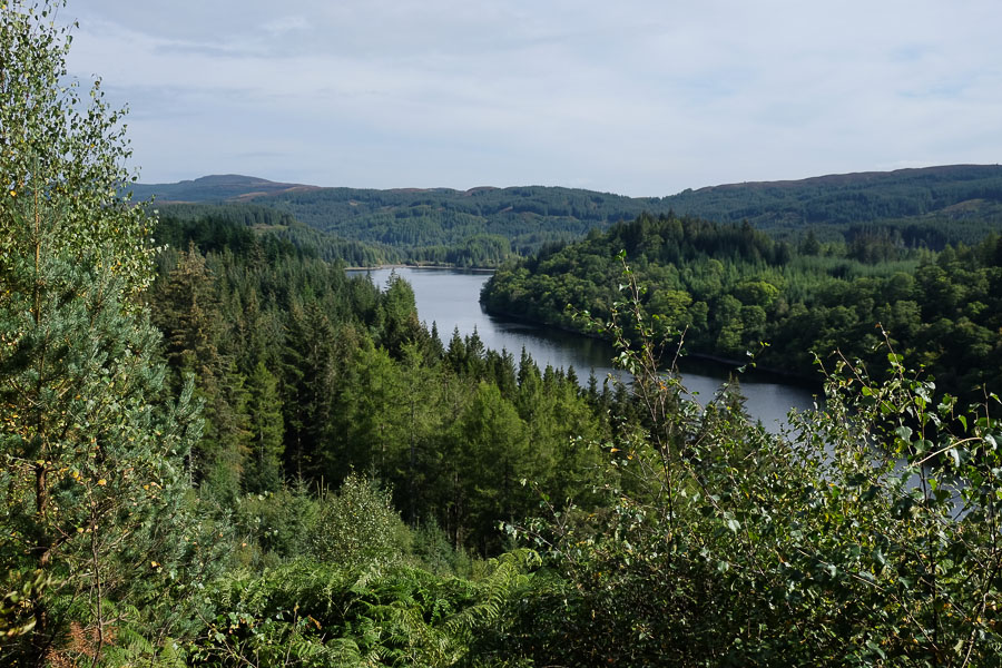 Loch Drunkie Car Park