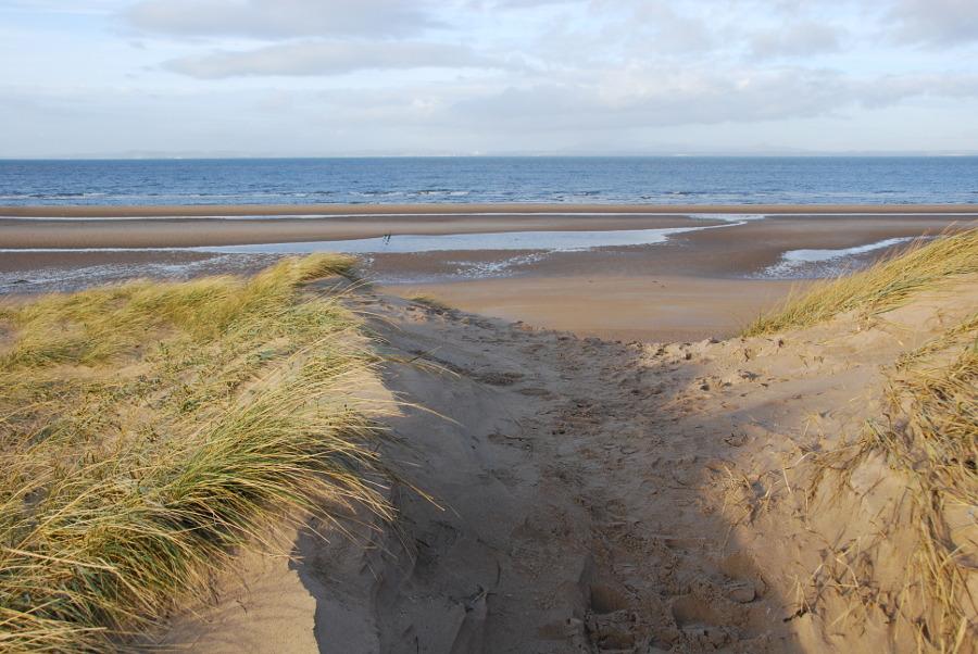 Aberlady Bay and Gullane Point (Walkhighlands)