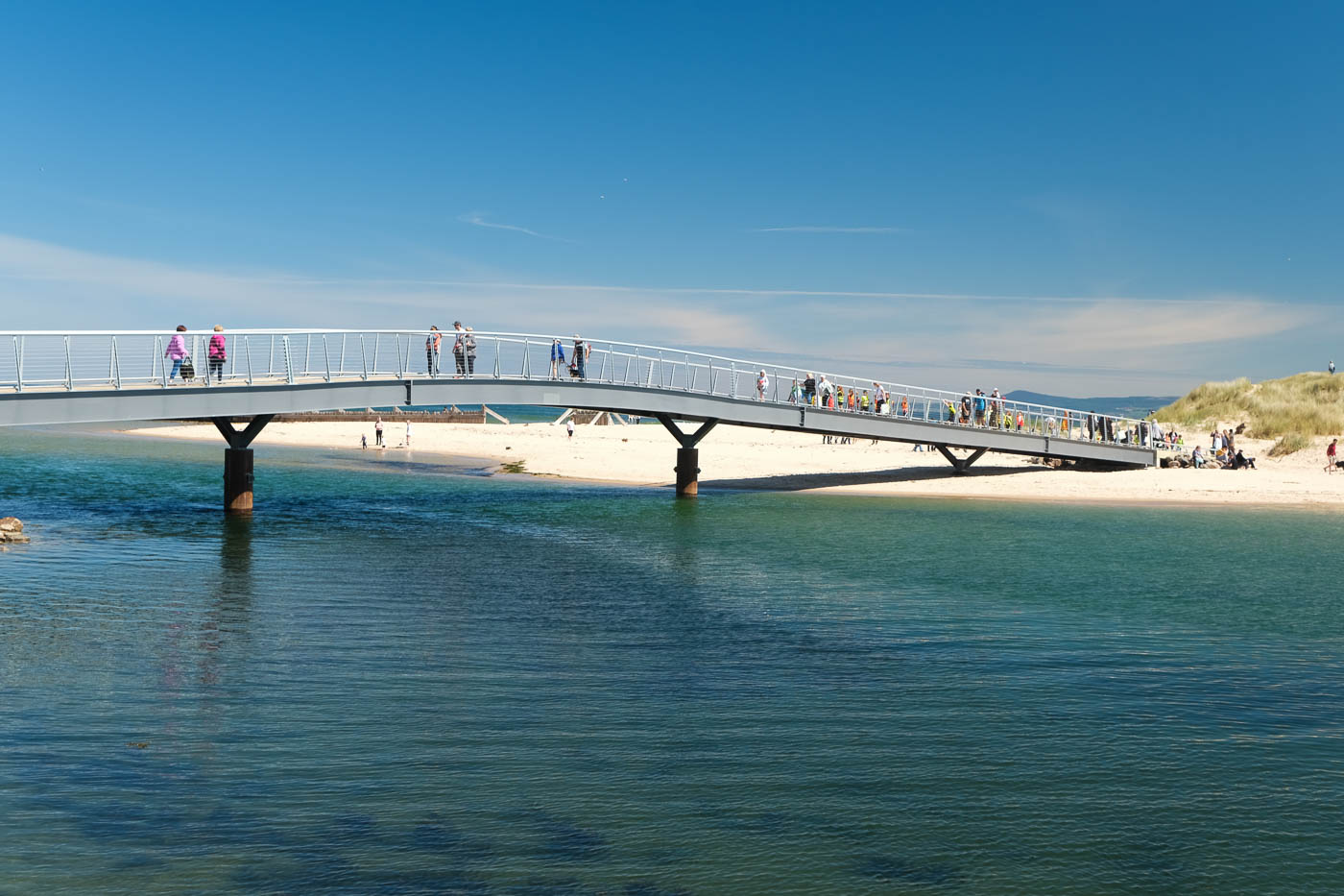 East Beach And The River Lossie Lossiemouth Walkhighlands