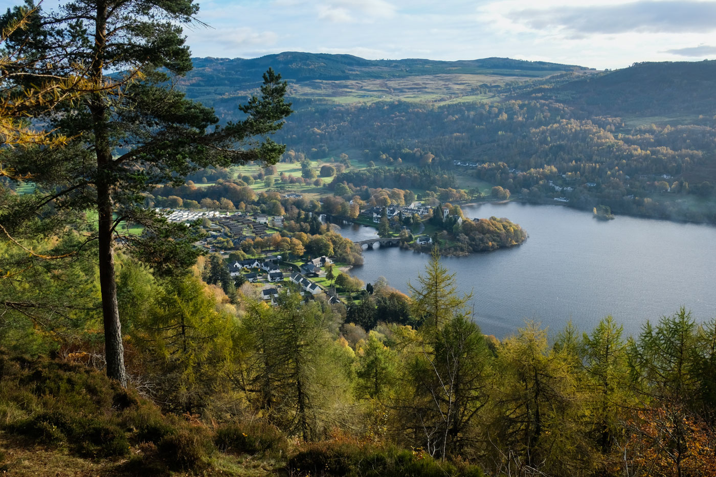 Drummond Hill And Black Rock Kenmore Walkhighlands