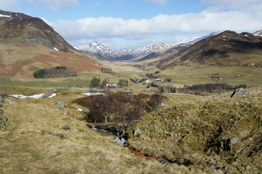 Kirkmichael To Spittal Of Glenshee Walkhighlands