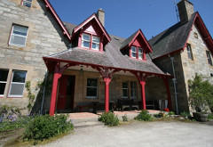 Traditional Highland Lodge, near Lairg