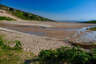 Sand Bay, site of Montys Beachcomber Cottage